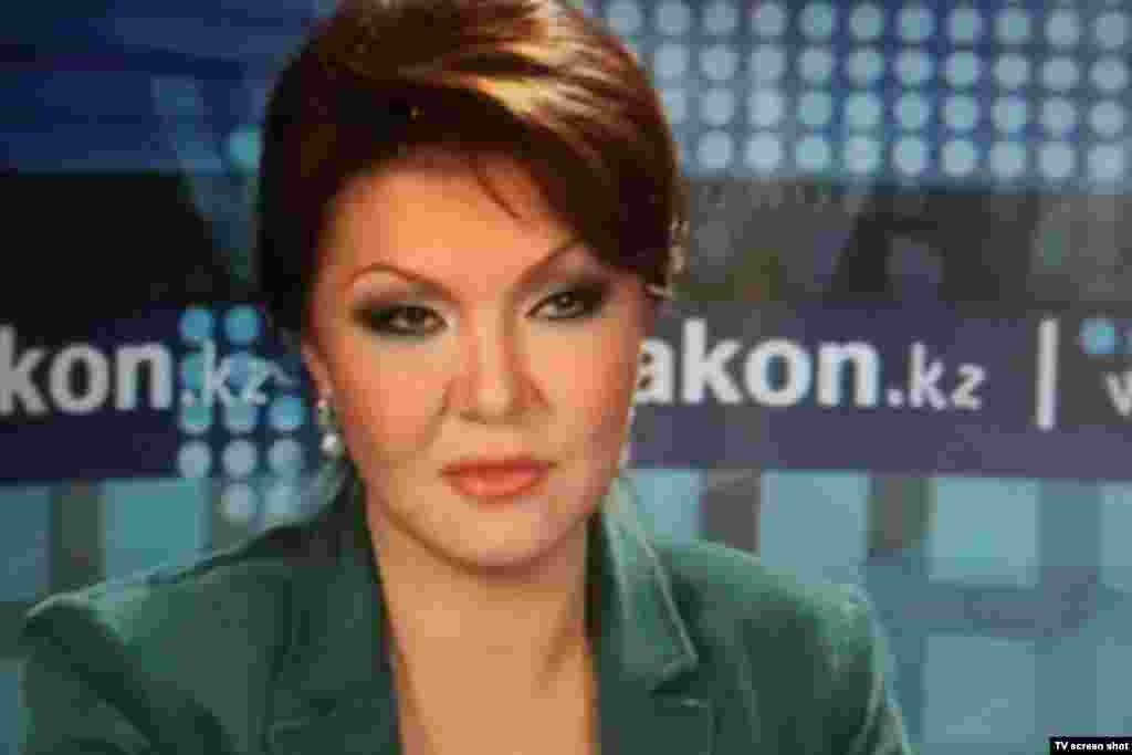 "After the scandal known as ""Rakhatgate,"" Darigha Nazarbaeva withdrew from Kazakhstan's political scene. She returned in 2012, when she was elected to parliament as a member of the ruling Nur Otan party led by her father, President Nursultan Nazarbaev. In the same time frame, Nazarbaeva told the media she had no contact with her former husband."