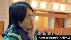 Музыкант Артем Ким. Алматы, 6 қазан 2016 жыл.