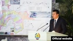 Премьер Таджикистана Кахир Расулзода.