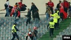 هواداران پرسپولیس در بازی رفت