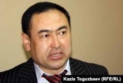 «Жебеу» қоғамдық ұйымының директоры Рақым Айыпұлы. Алматы, 4 қазан 2011 жыл.