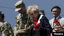 Бійці АТО і ветерани Другої світової святкують у Києві разом