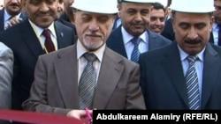 الشهرستاني وغفتان في مراسم افتتاح محطة كهرباء الرميلة الغازية