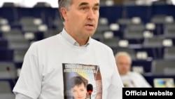 Пятрас Ауштрявичюс під час засідання Європарламенту