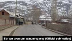 Жаңжал чыккан Баткен району