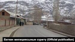 Баткенский район.