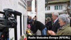 Obilježavanje 20. godišnjice otmice u Štrpcima, Prijepolje, 27. februar 2014.