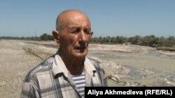 Житель Жанашарского сельского округа Осип Левицкий. Алматинская область, 4 сентября 2015 года.