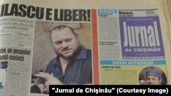 Jurnal de Chişinău, 11 mai 2001, eliberarea lui Ilie Ilașcu din închisoarea regimului separatist de la Tiraspol