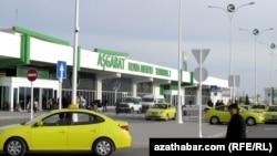 Aşgabatdaky aeroport