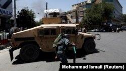 Неподалік місця вибуху у Кабулі, Афганістан, 31 липня 2017 року