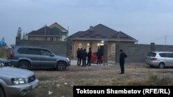 Дом Улана Салянова, в котором он был застрелен в ночь на 6 ноября.