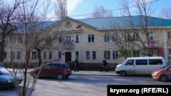 Будівля сімферопольського КЕЧ