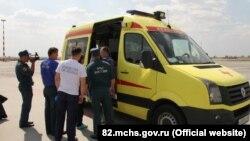 Эвакуация больного из Крыма в Санкт-Петербург