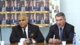 Лидеры партии «Наследие» Раффи Ованнисян (слева) и Армен Мартиросян