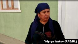 Кызыл-Кыштак айылынын тургуну Феруза.