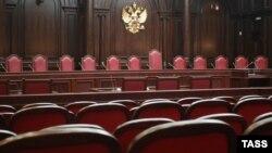 Зал заседания Конституционного суда. Архивное фото