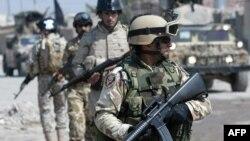 جنود من الجيش العراقي في البصرة