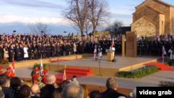 На церемонии ее инаугурации сегодня присутствовали сотни высокопоставленных гостей из-за границы