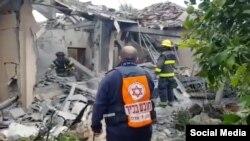 În Israel, după un tir de rachete din Gaza, la sfîrșitul lunii martie 2019