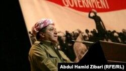 Лидер Курдского автономного района Ирака Масуд Барзани.
