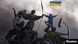 Революція гідності. Київ, майдан Незалежності. 20 лютого 2014 року