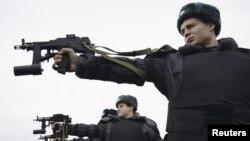 Учебные стрельбы полицейских в Ростове-на-Дону