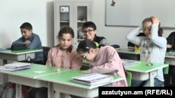 Հայ-չինական բարեկամության դպրոցը, 24 հունվարի, 2020թ.