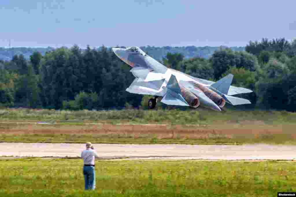 Lynette Nusbacher says the Russian SU-57 project, although apparently doomed, was not necessarily a waste of money.