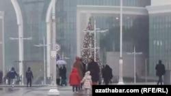 Ашхабад, декабрь, 2019