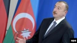 Azerbaijan's President Ilham Aliyev (file photo)