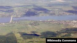 Ialoveni, vedere aeriană