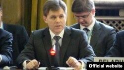 Ambasadori bjellorus në Rusi, Ihar Petryshenka.