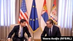 La întîlnirea de ieri de la Belgrad
