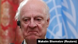 Специјалниот претставник на ОН за Сирија, Стафан ди Мистура