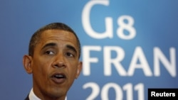 U.S. President Barack Obama will meet with new French President-elect Francois Hollande ahead of the next G8 summit.
