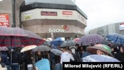 Mirni protest u Banjaluci završio prekršajnim prijavama