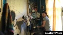 В таких условиях жила семья Василисы
