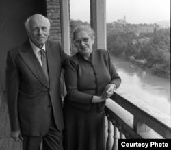 Andrei Saharov și Elena Bonner (Courtesy Photo: Yuri Rost)