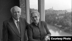 Андрэй Сахараў і Алена Бонэр