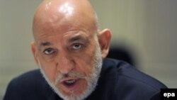 Presidenti afgan, Hamid Karzai.