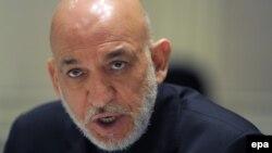 حامد کرزی رییس جمهور افغانستان