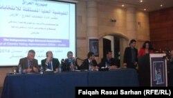 إجتماع لمكتب مفوضية الانتخابات العراقية في عمّان