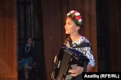 Аккордеончы Ирина Хәбибрахманова
