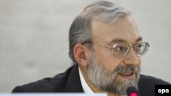 Mohammad Javad Larijani, secretary-general of the Iranian High Council for Human Rights (file photo)