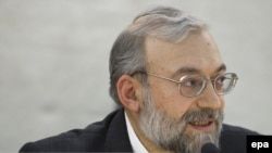 محمدجواد لاریجانی، دبیر ستاد حقوق بشر و مشاور امور بینالملل قوه قضائیه.