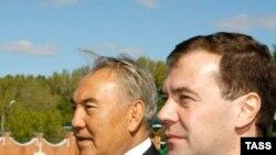 Д.Медведев пен Н. Назарбаев Ақтөбеде кездесті, 22 қыркүйек, 2008 жыл