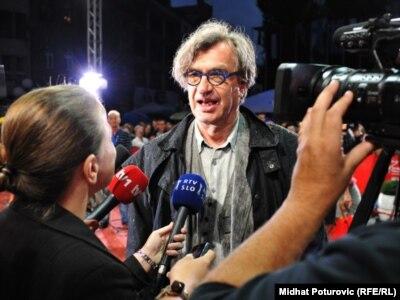 Wim Wenders na Sarajevo Film Festivalu, 23. jul 2011.
