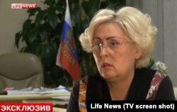 Мэр Славянска Неля Штепа