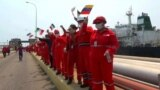 Iranian Oil Tanker Docks In Venezuela